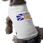 Terranova y Labrador, Canadá Camisas De Mascota
