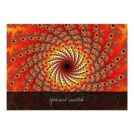Terrapin Spin Fractal Art Card