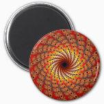 Terrapin Spin Fractal Art Magnet