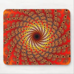 Terrapin Spin Fractal Art Mouse Pad