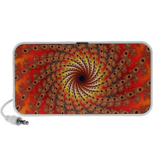 Terrapin Spin Fractal Art Travel Speakers