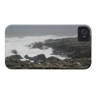 Terraplén de Giants, Irlanda del Norte iPhone 4 Case-Mate Protectores