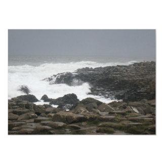 Terraplén de Giants, Irlanda del Norte Invitación 12,7 X 17,8 Cm