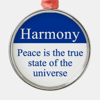 Terraplén de la armonía y de la paz el universo ornato