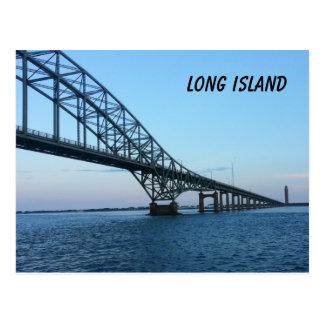 Terraplén de Long Island Postales