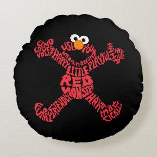 Terraplén de modelo de Elmo Cojín Redondo
