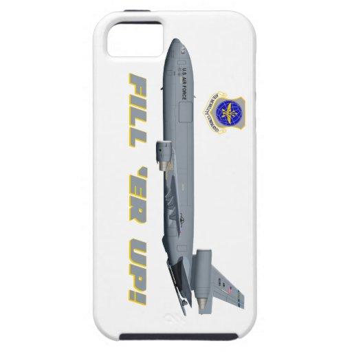 ¡Terraplén del suplemento de Douglas KC-10 'er par iPhone 5 Cárcasa