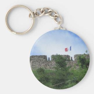 """Terraplenes """"St. Maarten """" de Louis del fuerte Llavero Personalizado"""