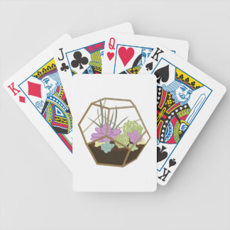 Terrarium Bicycle Playing Cards