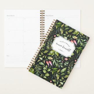 Terrarium Botanical Personalized Planner