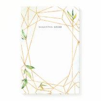Terrarium Botanical Personalized Post-it Notes