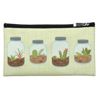 Terrarium Jars Makeup Bag