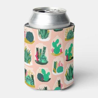 Terrarium Succulent Plant Cactus / Andrea Lauren Can Cooler