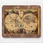 Terrarum 1625 del totius de Nova del mapa del vint Mouse Pads