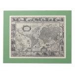 Terrarum del totius de Nova, mapa del mundo antigu Blocs