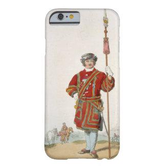 Terrateniente de Guard del rey, del 'traje de Funda De iPhone 6 Barely There