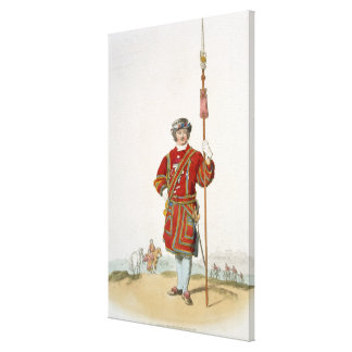 Terrateniente de Guard del rey, del 'traje de gran Impresiones En Lona