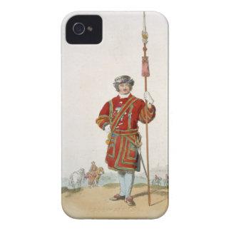 Terrateniente de Guard del rey, del 'traje de iPhone 4 Case-Mate Funda