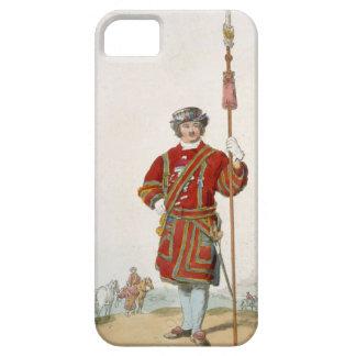 Terrateniente de Guard del rey, del 'traje de iPhone 5 Carcasa