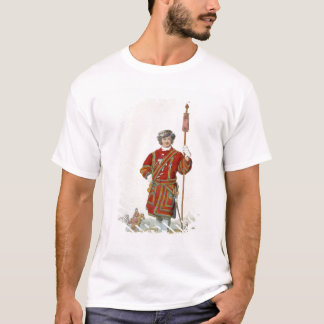 Terrateniente de Guard del rey, del 'traje de Playera