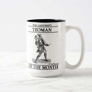 Terrateniente de la taza del mes