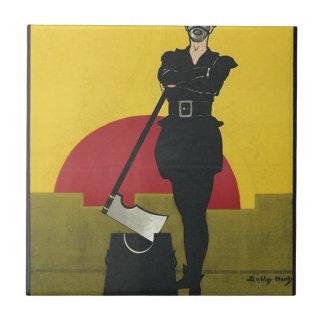 Terrateniente del poster de la ópera del vintage tejas