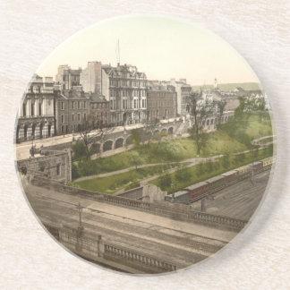 Terraza de la unión, Aberdeen, Escocia Posavasos Para Bebidas