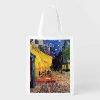 Terraza del café de la noche de Van Gogh en el Bolsa De La Compra