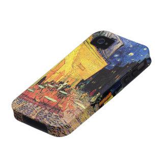 Terraza del café de la noche de Van Gogh en el iPhone 4/4S Fundas