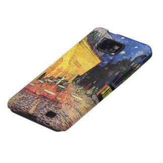 Terraza del café de la noche de Van Gogh en el Samsung Galaxy S2 Fundas