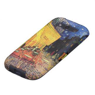 Terraza del café de la noche de Van Gogh en el Samsung Galaxy S3 Cárcasas