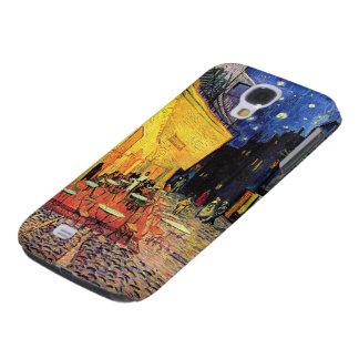 Terraza del café de la noche de Van Gogh en el Funda Para Galaxy S4