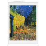 Terraza del café de Van Gogh el   en la noche el   Tarjeta Pequeña