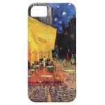 Terraza del café de Van Gogh en la noche iPhone 5 Cárcasa
