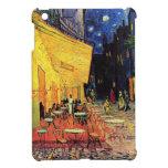 Terraza del café de Van Gogh en la noche iPad Mini Fundas