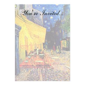 Terraza del café de Van Gogh en la noche Comunicados Personales