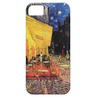 Terraza del café de Van Gogh en la noche iPhone 5 Carcasa