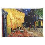 Terraza del café de Van Gogh en la noche Manteles