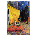 Terraza del café de Van Gogh en la noche Pizarras
