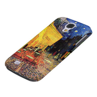 Terraza del café de Van Gogh en Place du Forum, Funda Para Galaxy S4