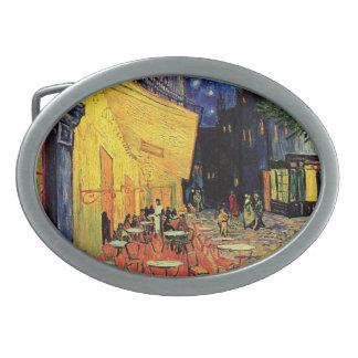 Terraza del café de Van Gogh en Place du Forum, Hebillas Cinturón Ovales