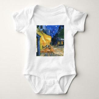 Terraza del café de Van Gogh Mameluco De Bebé