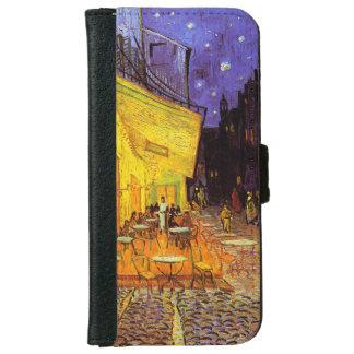 Terraza del café de Vincent van Gogh en la bella Funda Cartera Para iPhone 6