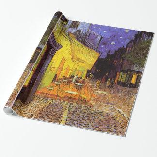Terraza del café de Vincent van Gogh en la pintura