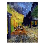 Terraza del café en la noche de Vincent van Gogh 1 Postales