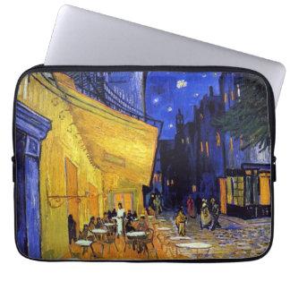 Terraza del café en la noche de Vincent van Gogh Mangas Computadora