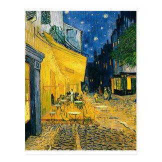 Terraza del café, Place du Forum, Arles, 1888 Postales