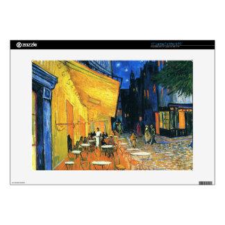 Terraza del café, Place du Forum, Arles Skins Para 38,1cm Portátil
