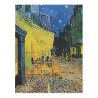 Terraza del café - Vincent van Gogh Tarjetas Postales