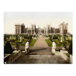 Terraza del este c.1895 del castillo de Windsor Postal